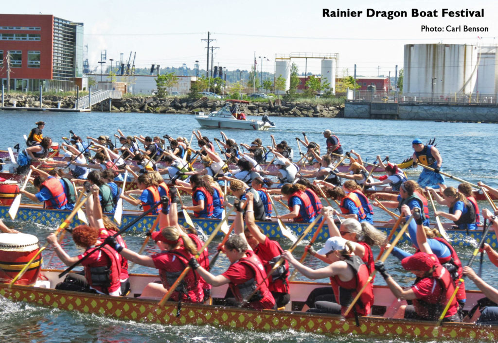 Photo of Rainier Dragon Boat Festival