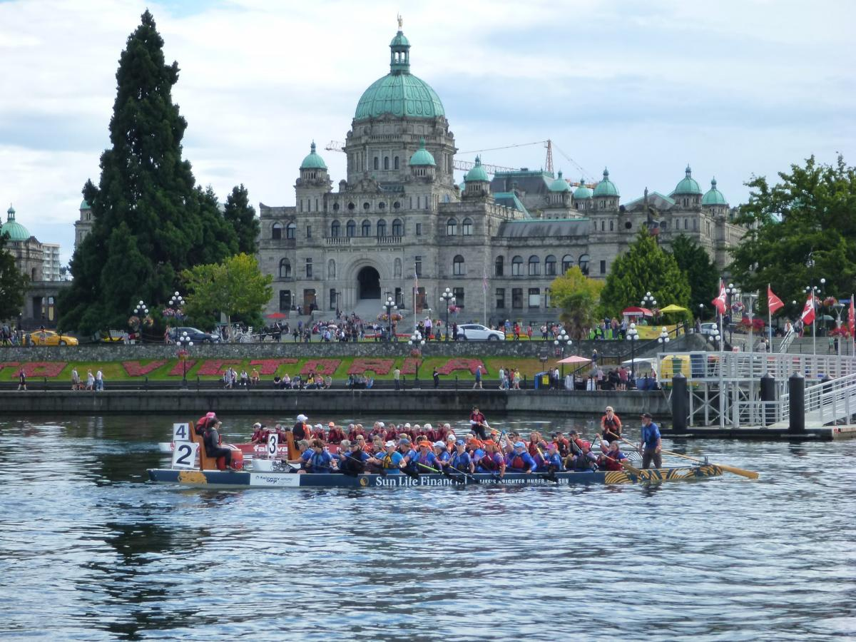 Dragon Boat Race in Victoria